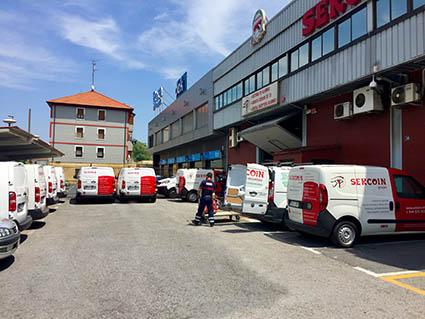 flota de vehículos de asistencia Sercoin