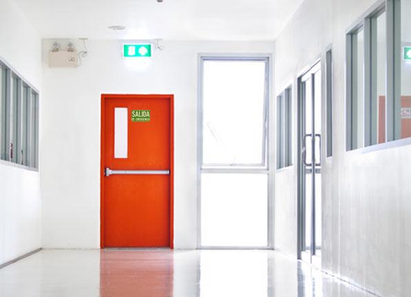 Puertas cortafuego para empresas