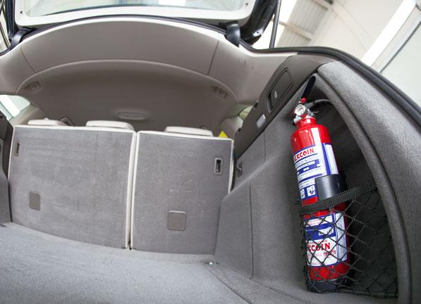 Extintores para el coche