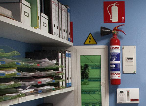 Extintores para fuegos eléctricos