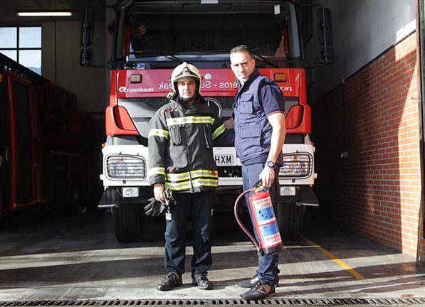 Formación y PRL Prevención de Riesgos Laborales contra incendios