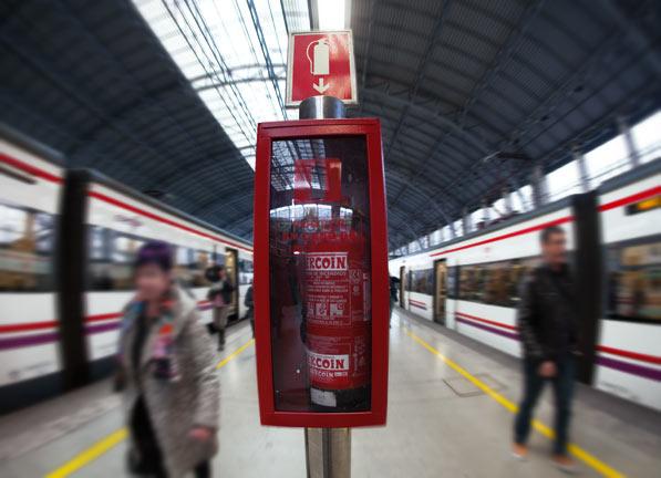 Extintores manuales para empresas y negocios
