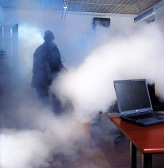 Generador de niebla visibilidad cero