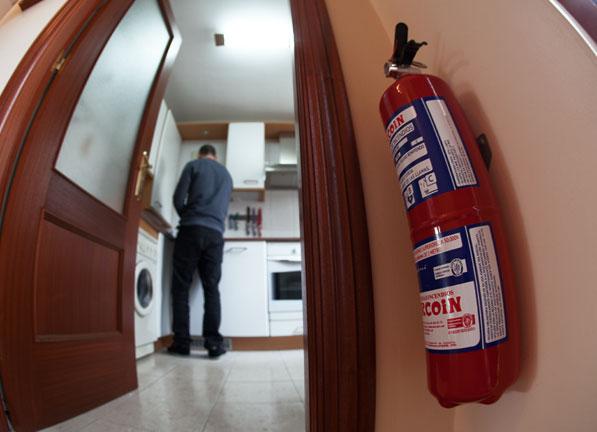 Extintores para la cocina