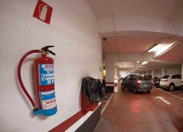 extintores para garajes